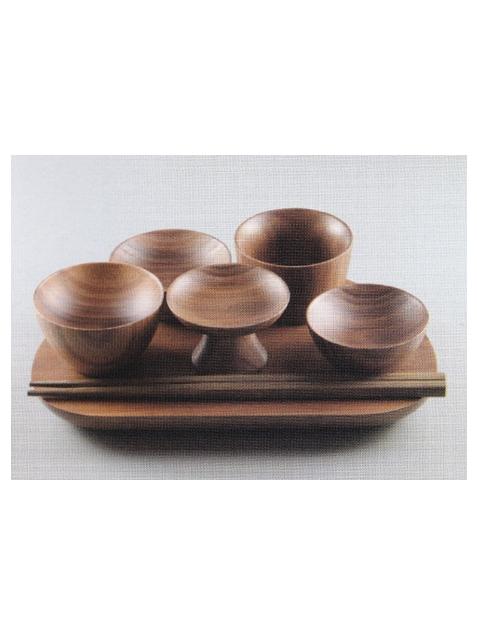 木製 森の仏具(ウォールナット)
